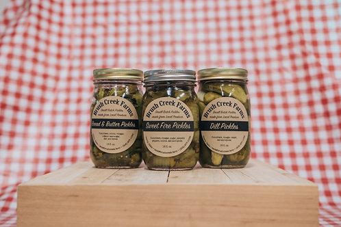Brush Creek Farms Pickles