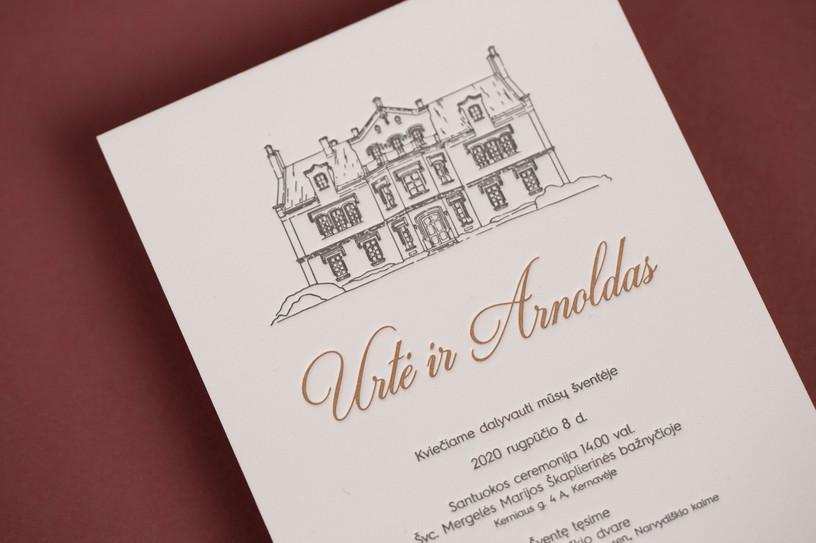 vestuviniai kvietimai su ispaudu narvydi