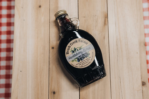 Brush Creek Farms Huckleberry Syrup