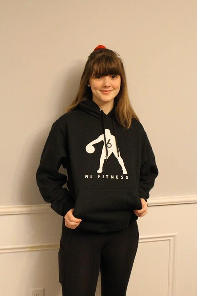 black hoodie swag