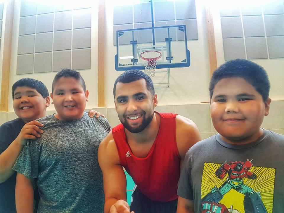 "Basketball Training ""Cree Nation"""