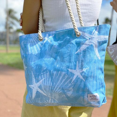 Tote Bag Blue Shell