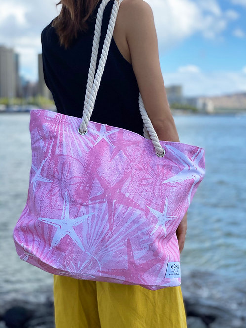 Tote Bag Pink Shell