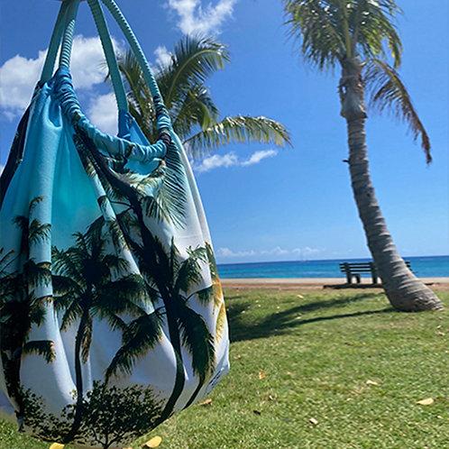 Palm Tree ラウンドトート