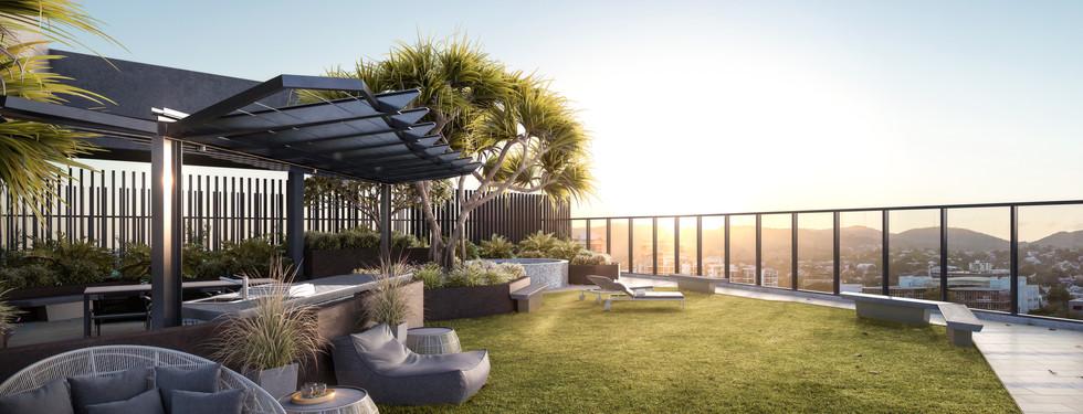 Roof Top Spa & Garden