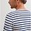 Thumbnail: Saint James - MINQUIERS MODERNE Authentic Breton Shirt -Neige/Marine