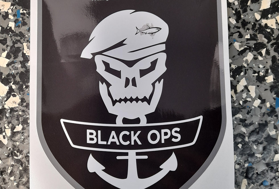 Makocraft Black Ops Sticker Decal - Single