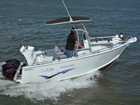 BOAT SALES REVIEW - 531 CANYON CONSOLE