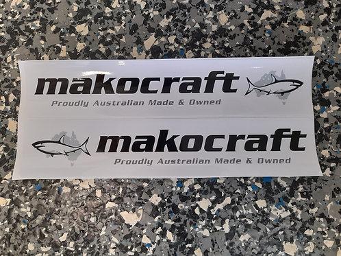 Makocraft Boat Sticker Decal - Regular