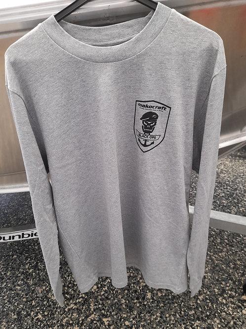 Makocraft Black Ops Long Sleeve Shirt - Grey