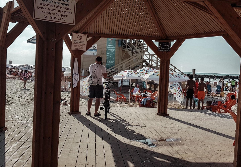 Metzizm Beach, Tel Aviv, Israel