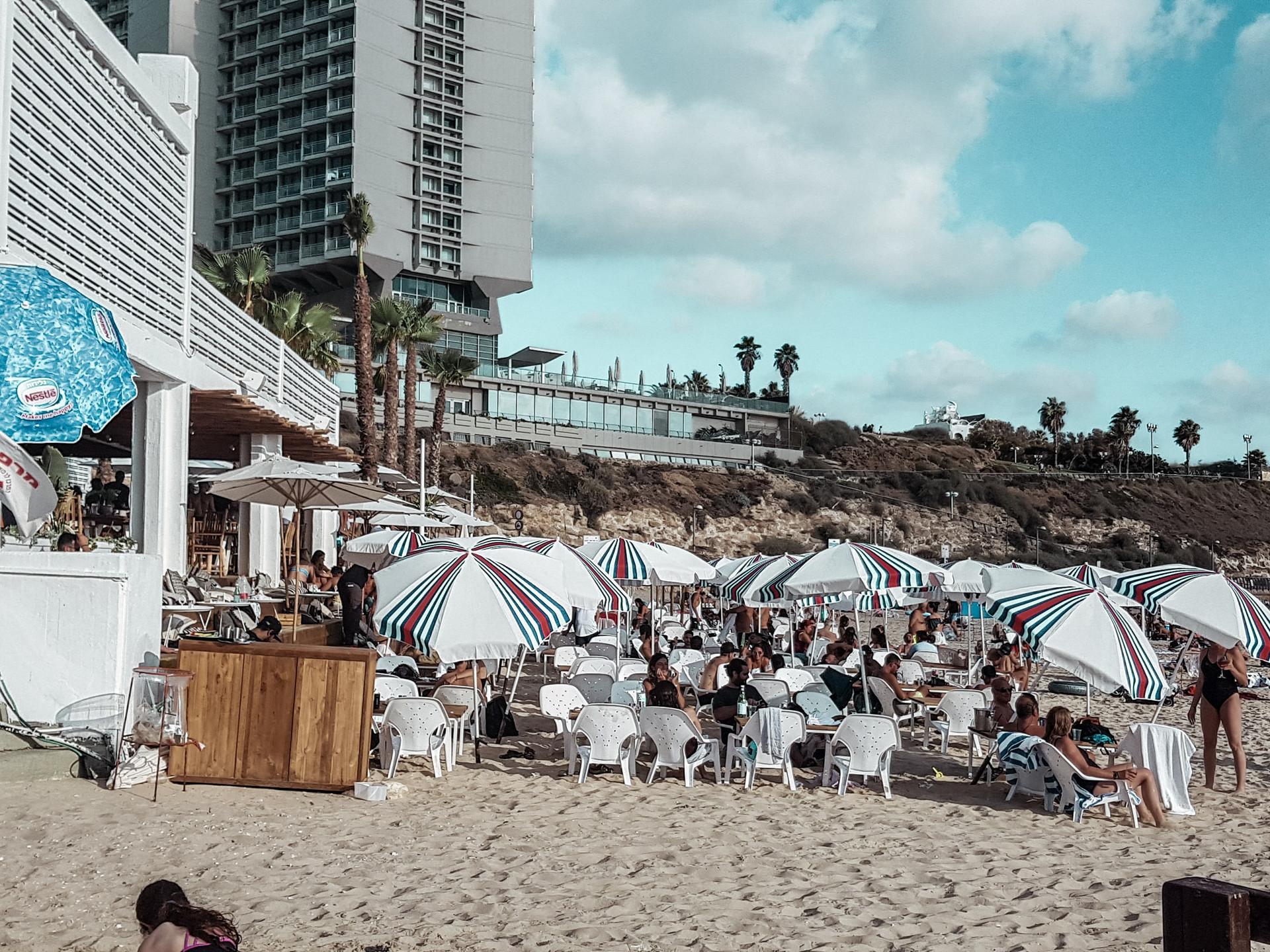 Topsea Hilton Beach, Tel Aviv, Israel