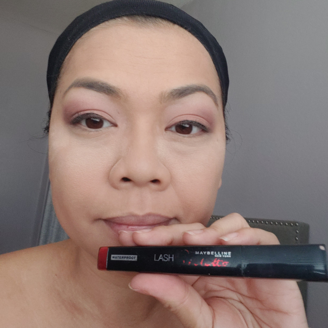 I swear by Maybelline Lash Stilletto in waterproof very black