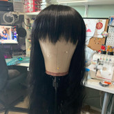 Wig - before