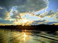 Sunsets before sampling