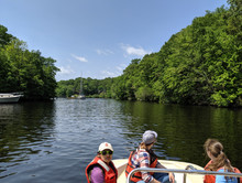 Scouting the Connecticut River for new sampling sites