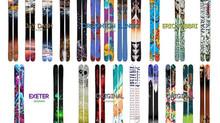 Imagine a Totally Custom Ski!!