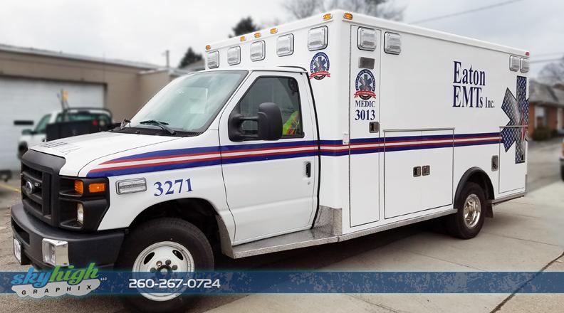 Ambulance decals