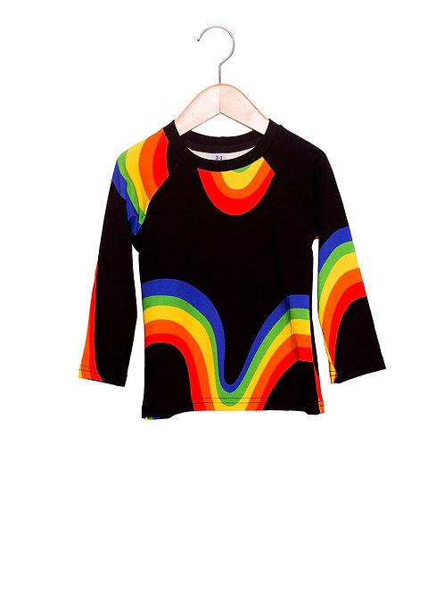 Camiseta Raglan Estampa LoK Blackíris Frente