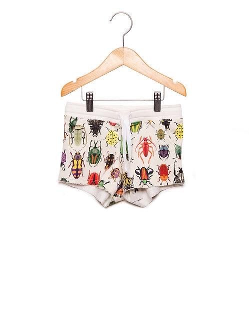 Shorts Estampa LoK Insetos Frente