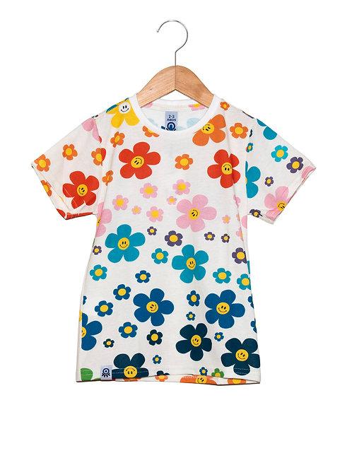 Camiseta Flower Power LOK Frente