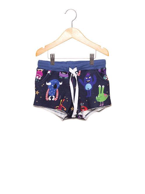 Shorts Estampa LoK Monstros Frente
