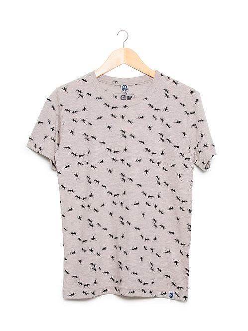 Camiseta Gente Grande Estampa LoK Formigas Frente