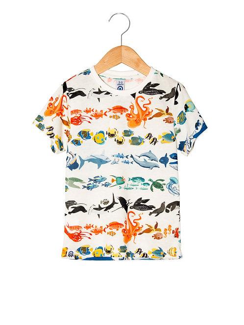 Camiseta Estampa LoK Oceano Frente