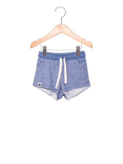 Shorts Moletom Jeans LoK Frente