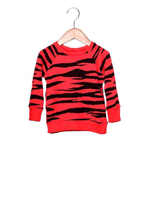Camiseta Raglan Estampa LoK Tigre Frente