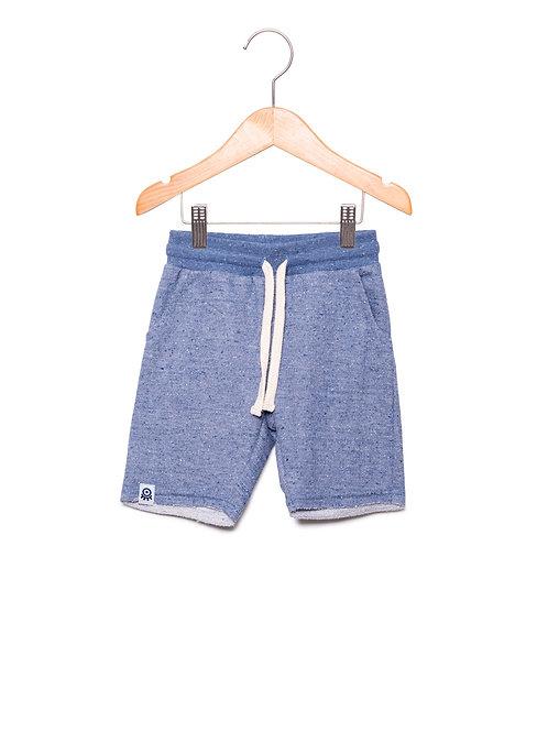 Bermuda Moletom Jeans LoK Frente
