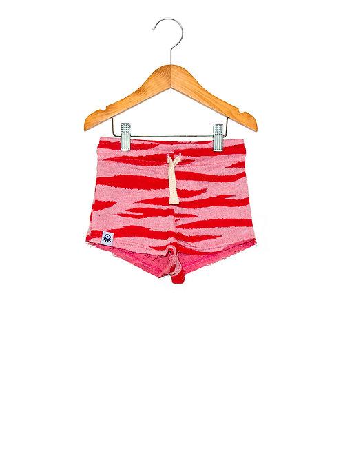 Shorts LokPink Tigre Frente