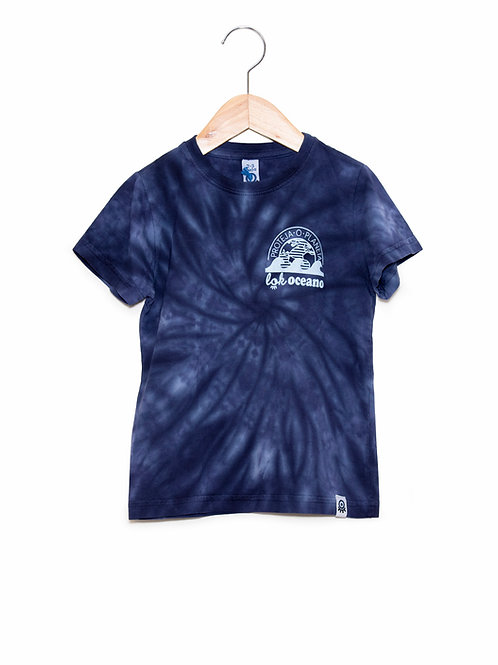 Camiseta Tie Dye LoK Oceano Frente