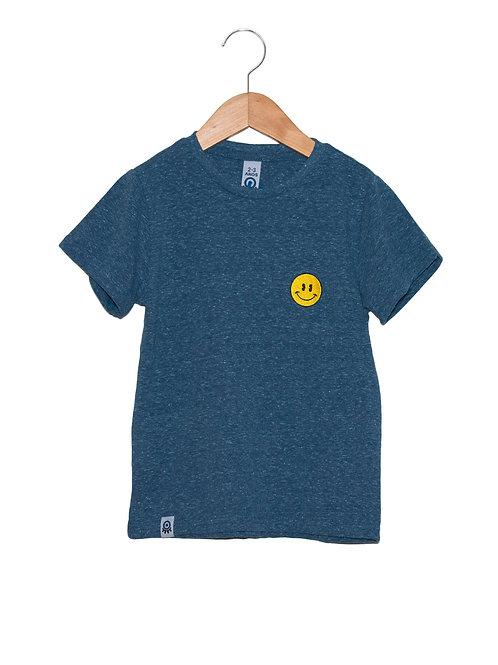 Camiseta Sorriso Bordado LOK Frente