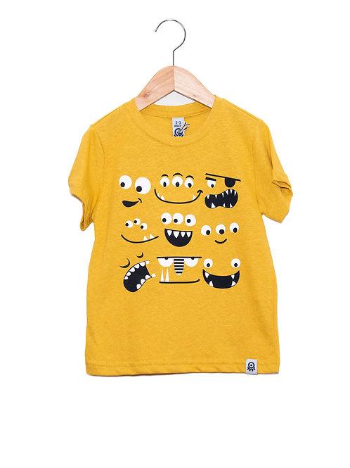 Camiseta Caretas Monstros LoK Frente