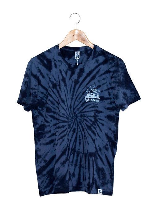 Camiseta Gente Grande Tie Dye LoK Oceano