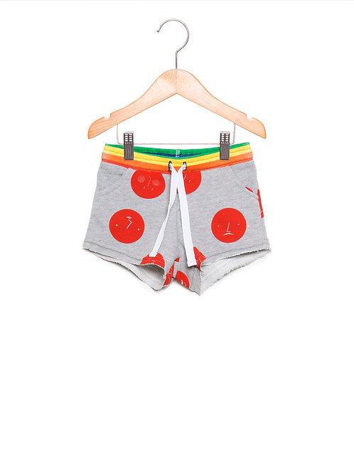 Shorts Infantil Estampa LoK Bolotas Frente