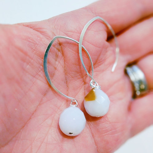 Natural Stone Earrings