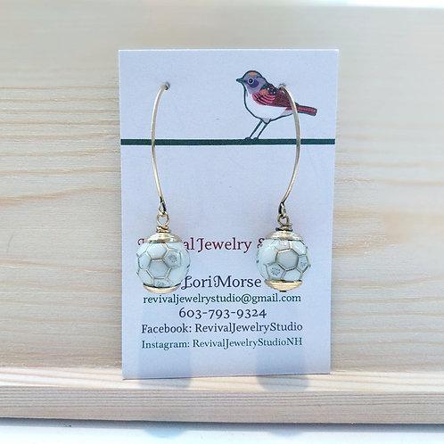 Honeycomb Drop Earrings