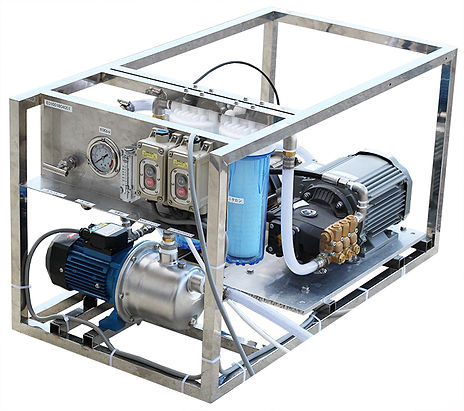 Sea water desalination machine E-120