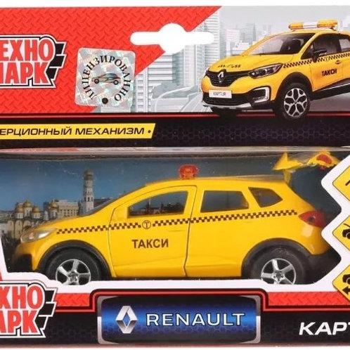 14-417-73 Машина металл RENAULT Kaptur ТАКСИ 12см