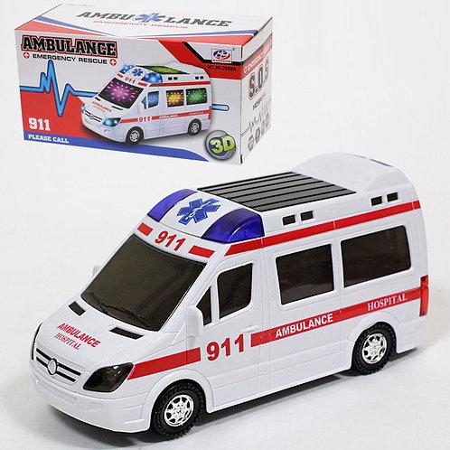 50-763-25 Машина скорой помощи на бат. (в кор. 96/48 шт.)