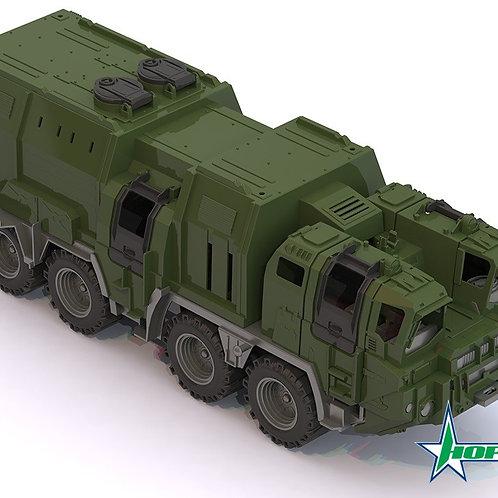 34-155-3 Военный тягач Щит с кунгом (Н-П)
