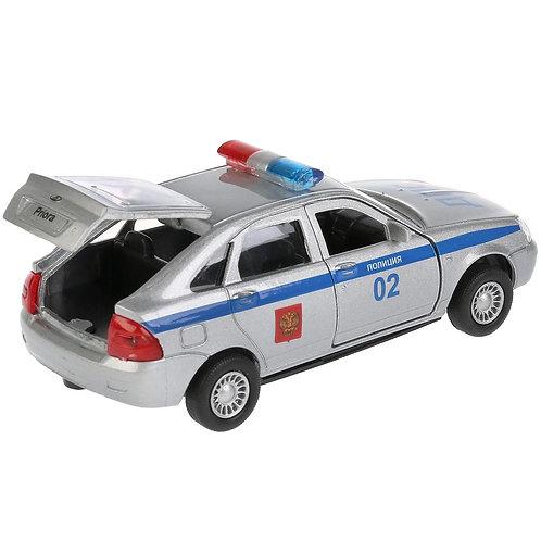14-417-51 Машина металл  LADA Priora хэтчбек полиция 12см. о
