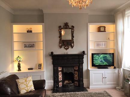 Victorian Style Alcove Units.