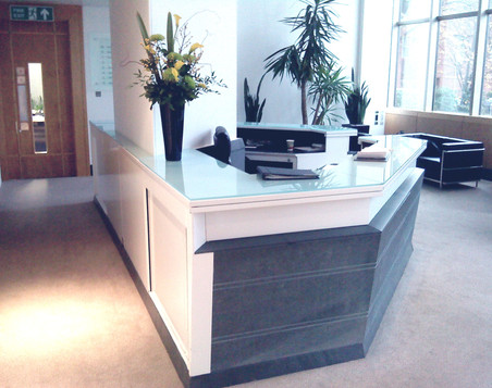 Contemporary Reception Desk.