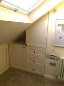 Under-eaves Storage Unit.