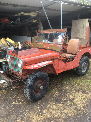 1942 Ford GPW restoration project