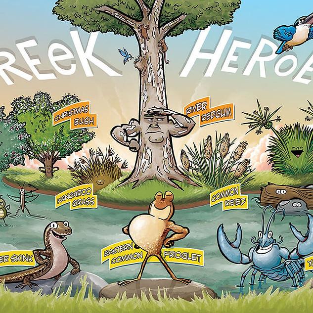 Creek Heroes poster
