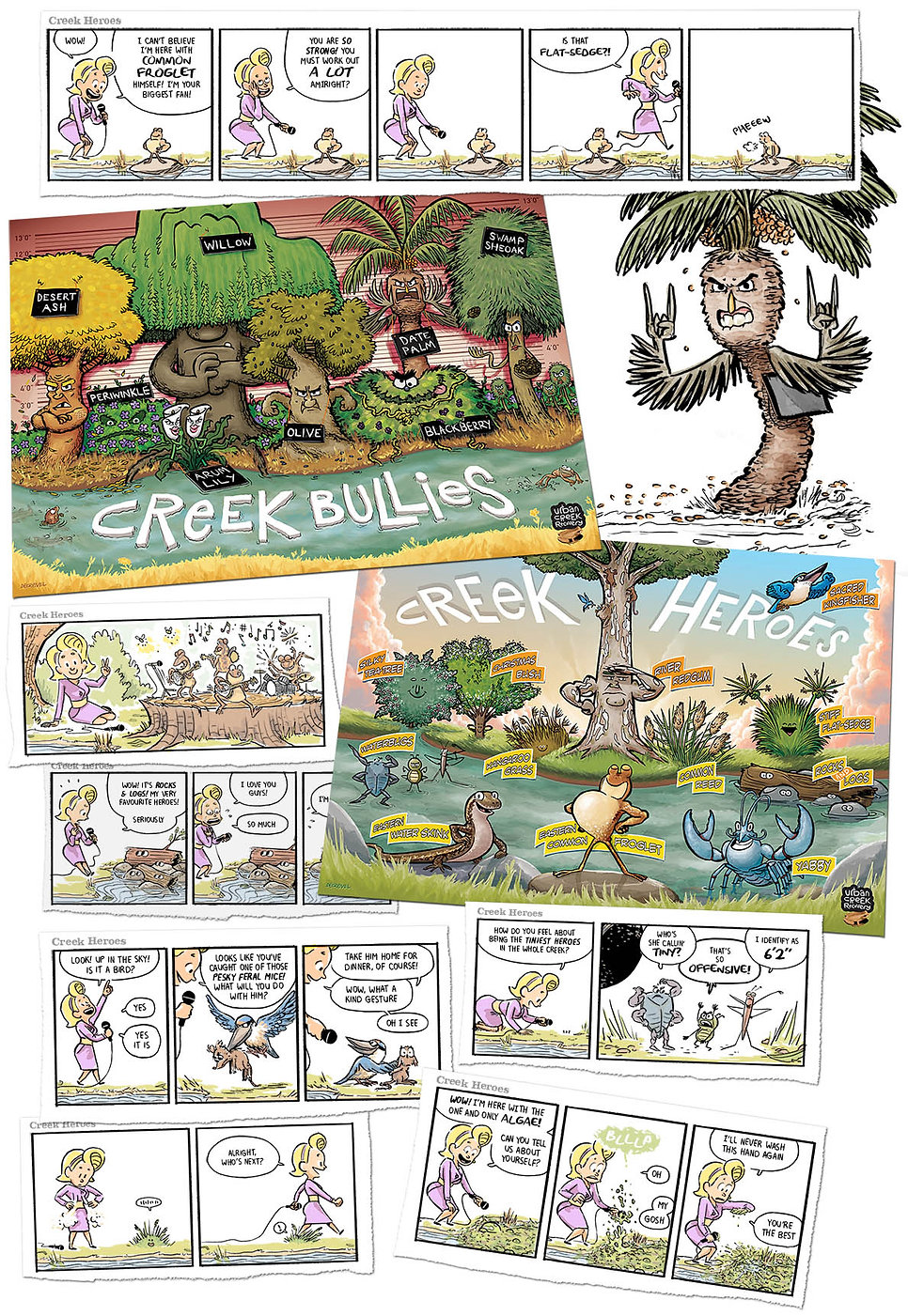 Creek Bullies & Heroes